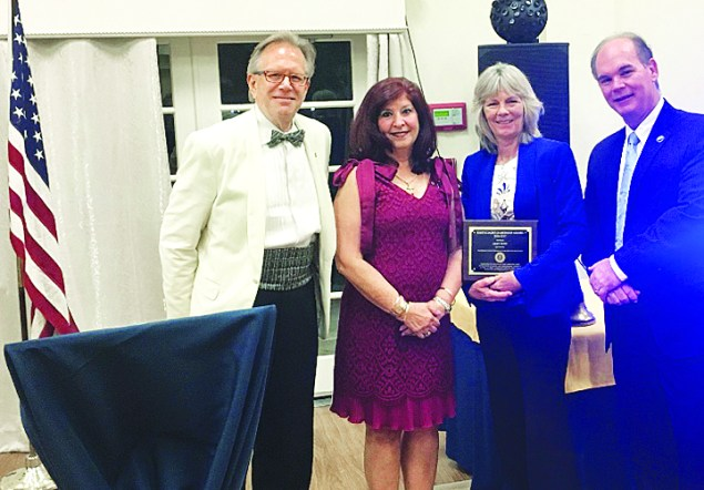 Rotary's South Dade Leadership Award presented to Mary Pettit