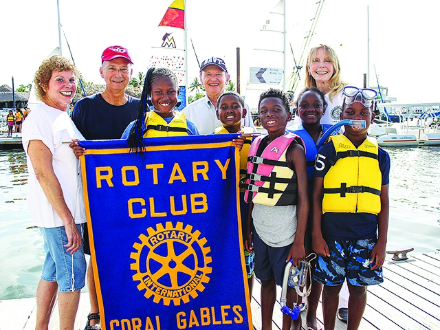 Gables Rotary sponsors summer camp for Overtown Youth Center