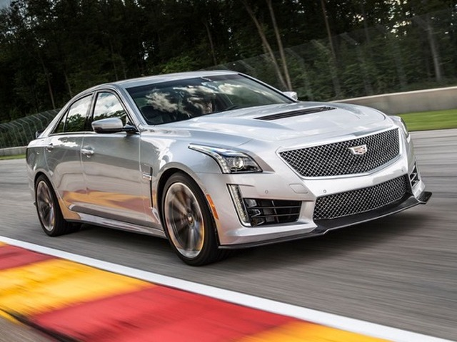 Take the Cadillac CTS-V out for a spin — but hang on tight