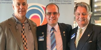 Rotary Club of Coconut Grove installs Joe King as new president