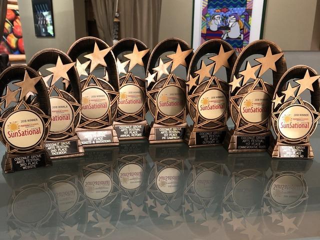 Annual Coconut Grove Arts Festival captures eight SunSational Awards