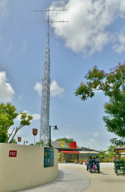 Zoo Miami installs tracking tower to expand global wildlife research