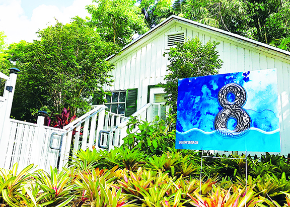 Pinecrest Environmental Artist Xavier Cortada calls for action on rising sea levels