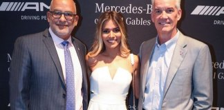 Mercedes-Benz of Coral Gables unveils its latest 'hot' vehicle