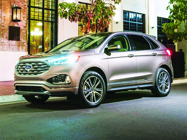 2019 Ford Edge suited for an urban-based, gear-heavy lifestyle