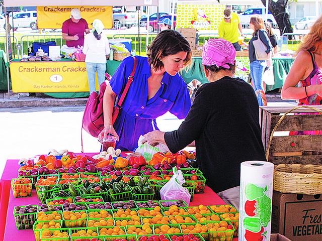 Gables Farmers Market returns every Saturday through March