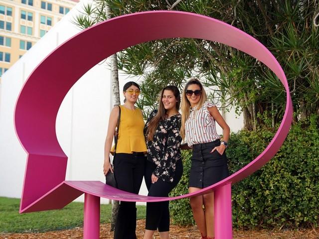 Speech-Bubble art enhances Coral Gables public spaces