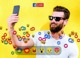 Go Live! using Facebook's top feature to make face-to-face connections