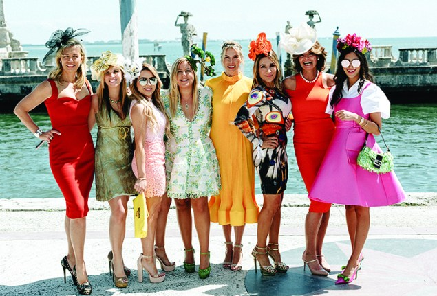 Fashion tips its hat to a Miami landmark at Vizcaya luncheon