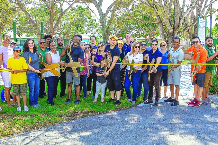 AvMed Fitness Court opens at Colonial Drive Park
