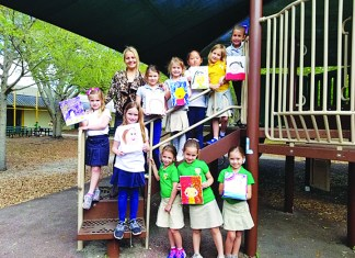 Pinecrest Elementary School teacher has first grade girls thinking in new ways