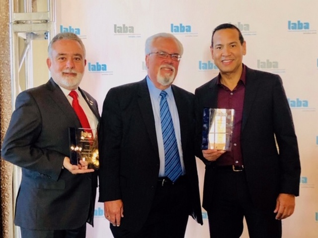 Luis Garcia, named 'Entrepreneur of the Year' by the Latin American Business Association