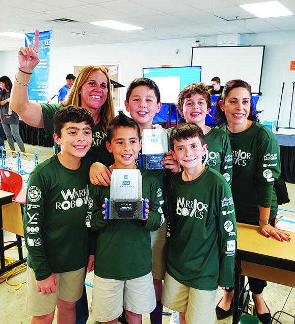 Westminster Christian School Elementary Robotics Program