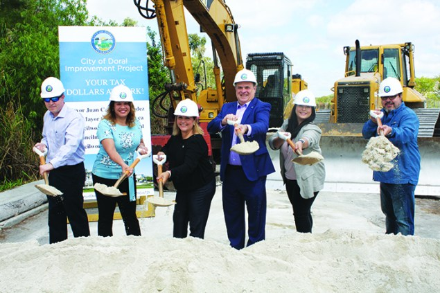 Doral breaks ground on NW 102nd Avenue connection