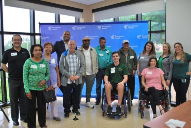 Encompass Health Rehabilitation Hospital of Miami unites for brain injury awareness