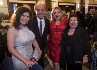 MCCJ receives a substantial donation during its Humanitarian Awards Dinner