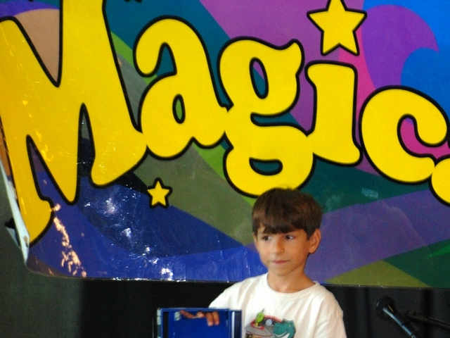 Summer camp teaches children magic, boosts self-confidence