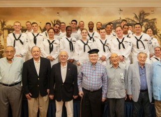 The Palace Coral Gables hosts ships' crew visit during Miami Navy Week