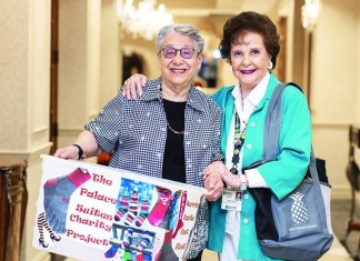 Seniors at The Palace Suites find fulfillment in volunteering