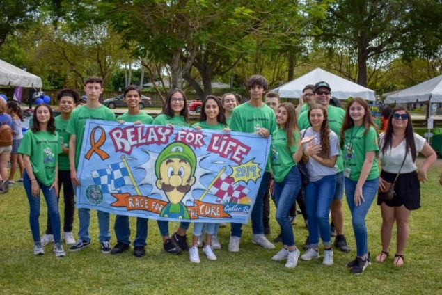Town raises more than $1,600 at Relay for Life of South Dade