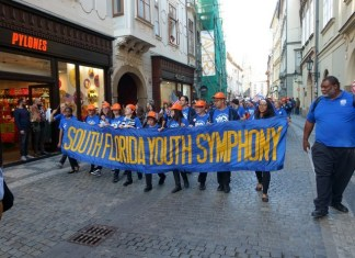 South Florida Youth Symphony takes gold at Prague festival