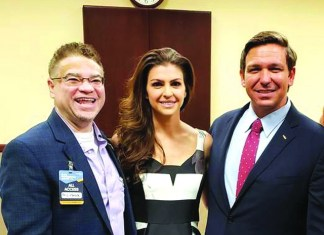 Florida First Lady Casey DeSantis speaks at House of Protection charity gala