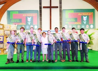 Pinecrest Boy Scout Troop 457 has 9 new Eagle Scouts