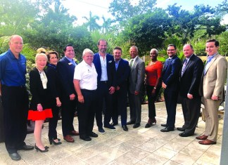 Emre Erkul, Seminole Hard Rock Hollywood, gives update to Aventura Marketing Council Board