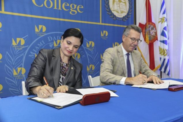 U. of Miami and Miami Dade College enter into articulation agreement