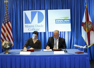 MDC launches partnership with Pan Am Int'l Flight Academy