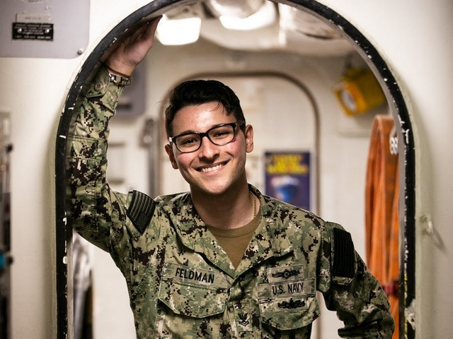 Miami Sailor serving aboard U.S. Navy warship in Pacific