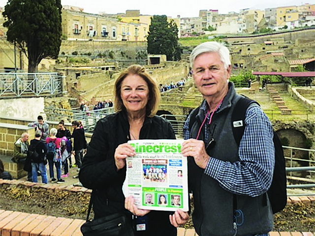 Read In Naples, Italy