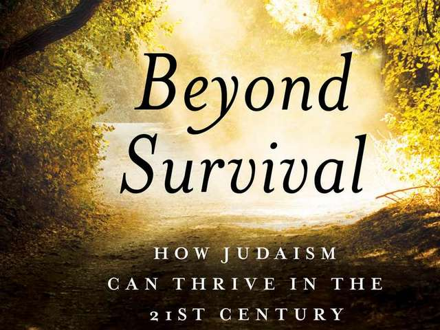 Rabbi's book challenges the limiting agenda of the Jewish establishment