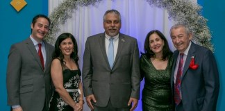 Temple Judea fundraising gala honors David Schaecter and Sydney Schaecter