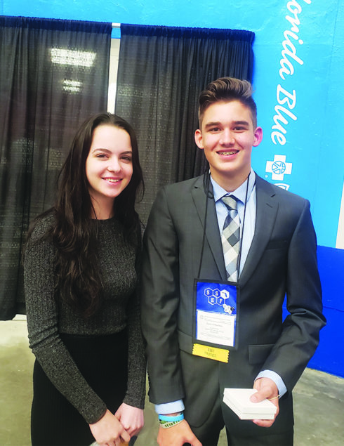 WCS Freshmen Earn Awards at State Science Fair