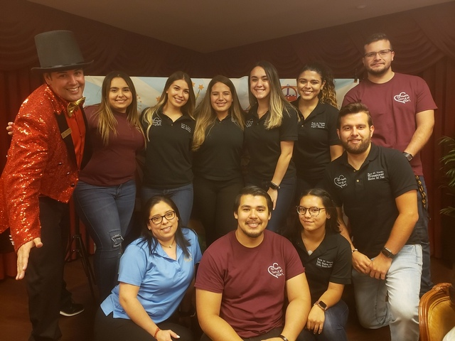FIU students host intergenerational carnival for seniors at Palace Royale