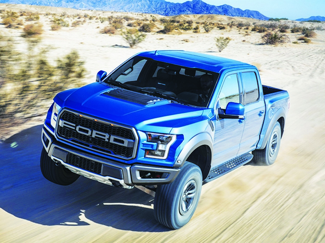 The new Ford F150 Raptor is an unstoppable force