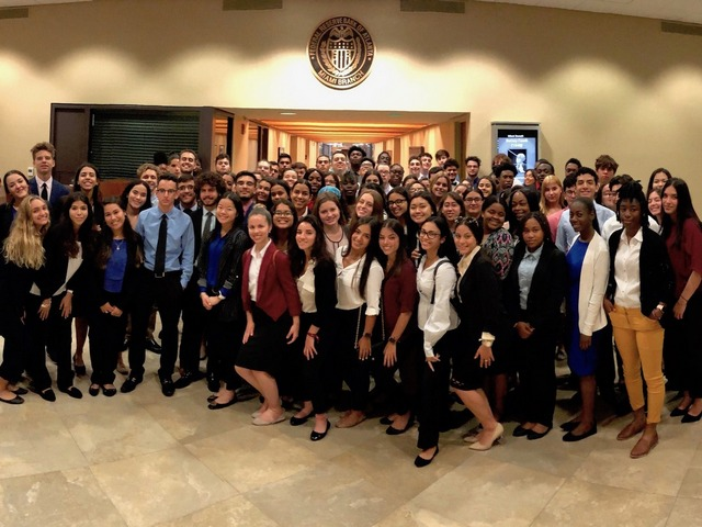 Students qualify for internships as part of Future Bankers Camp