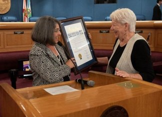 Miami-Dade Commission honors social justice advocate Dawson