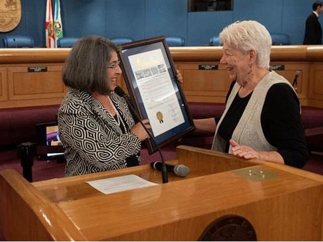 Miami-Dade Commission honors social justice advocate Dawson