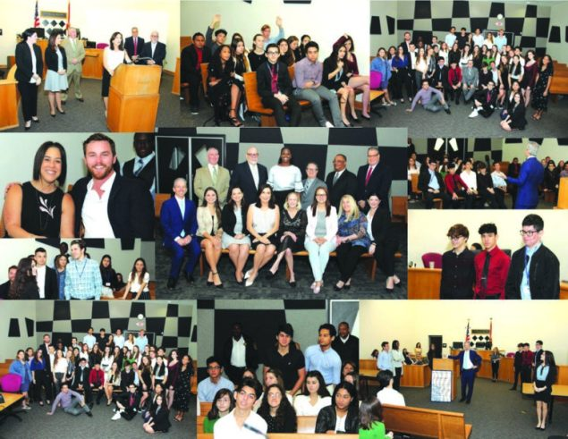 Judges of North Dade Justice Center celebrate LAW DAY