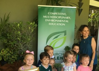 The Growing Place top elementary in Fairchild Challenge competition