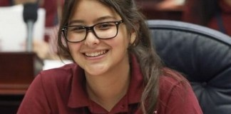 CBHS student Maria Porto attends Florida Girls State