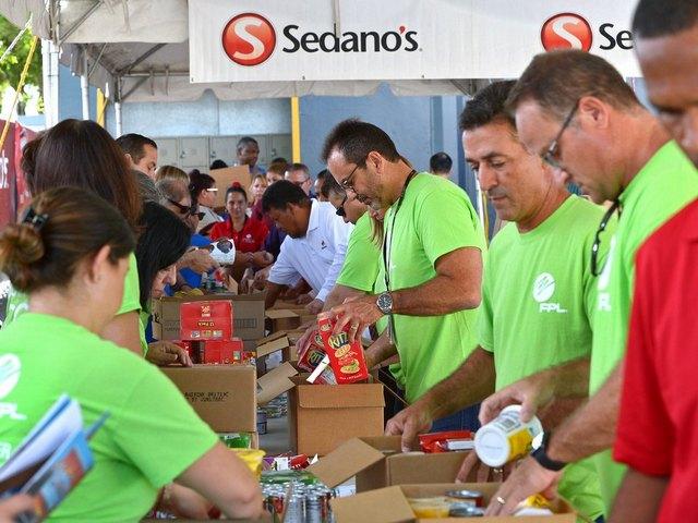 FPL, Sedano's work together to deliver hurricane food kits