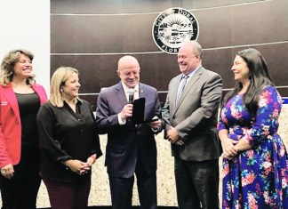 Doral honors President of Miami Dade College with key to the city