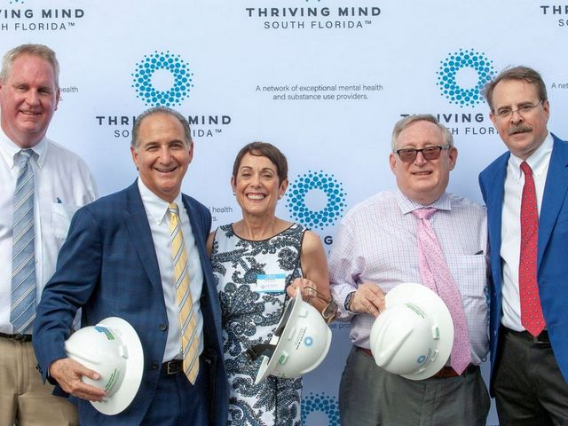 Thriving Mind South Florida 'breaks ground' for mental health center