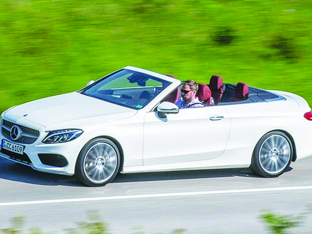 AMG C 43 Cabriolet has incredible brawn, cutting edge tech