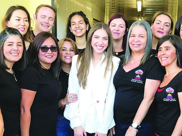 First Lady of Venezuela visits Doral