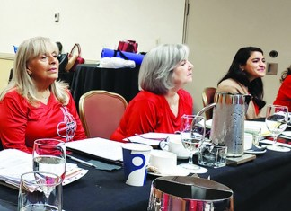 Woman's Club board retreat at Intercontinental Doral sets plans for coming year