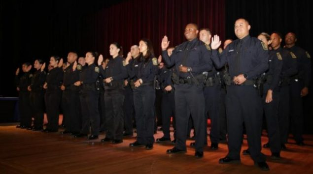 New officers welcomed during MDCPS Police's largest swearing-in ceremony